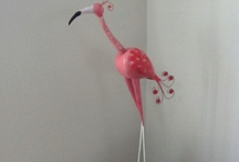 I Love Flamingos / by Minette Marcelli