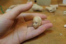 Шарнирная кукла / Куклы из пластики
