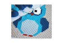 C2C horgolás (C2C crochet)