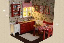 Miniature and Dollhouse
