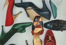 VINTAGE SHOES AND BAGS