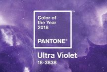 Ultra-violet: il colore pantone del 2018