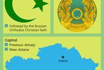 Kazakhstan. ..Mongolia. ...Russia