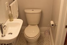 Small powder rooms
