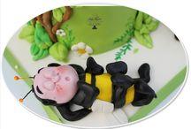 modelling / sugar modeling for childrens cake design