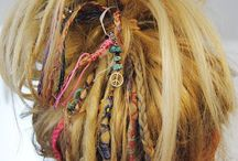 hair wraps and dread locks
