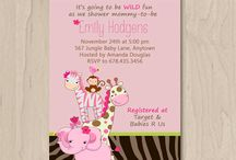 Baby Shower - Pink Jungle / by SAF Faustin