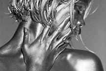 """Shimmering Silver """