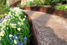 Jardin - Bordures en acier