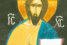 Icon / Orthodox icons Christ Pantokrator www.vamosistvan.hu