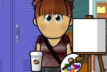 Art Room - Flipped Lesson Videos / How to videos for the art room