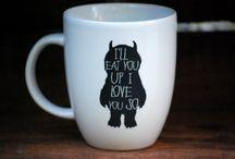 mugs & cups / cani cu model