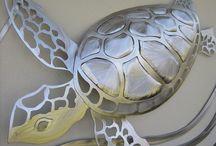 Copper turtle