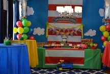Chuggington bday party
