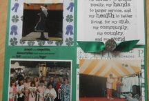 4H Scrapbooking / Layouts and products for scrapbooking your 4H pictures