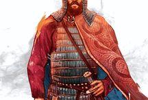 Воин славяне Богатыри