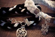 bracelets / My own homemade bracelets :)