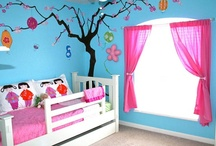 Kids' Rooms / #Painting and #remodeling ideas for children's and teenagers' rooms.