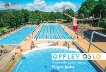 Campaign posters Experience Oslo Sommer 14 (Opplev Oslo) / Opplev Oslo på en morsom og aktiv måte