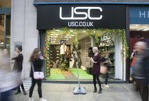 #USCFNO / Check out behind the scenes snaps from our 'Midnight Garden' event, held at USC Oxford Street as part of Vogue Fashion's Night Out!