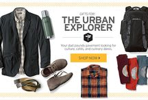 Father's Day: Urban Explorer / Gifts for the dad who pounds pavement looking for culture, cafés, and culinary dares.