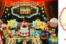 FESTA EM CASA - CIRCO / http://www.blogmaedeprimeiraviagem.com/2016/10/festa-circo-decoracao-em-casa.html