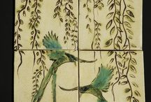 Decorative Tiles / Examples of tile work done by Lisa Gergely at Gergely Designs