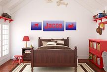 Ideas & Inspiration | Boy's Room / Ideas and Inspiration for decorating a boy's bedroom.