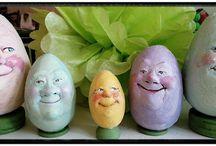 Easter dolls by NIADA artists
