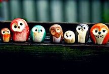 Owls all shapes and sizes / and done in all and any medium