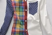 Shirts / Upcycling of male shirts - redesign and just good ideas