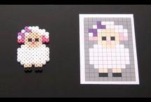Pixel art/ beads Animals