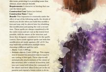 Dungeons and Dragons-Spells/Constuctions/Feats