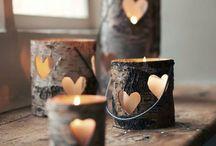 Dekorace a doplňky | Decorations / Inspirace a nápady pro tvoření z přírodních materiálů