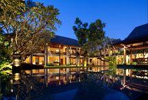 Bali - Pools by night