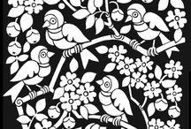 Illustrationen/ Muster/ Gemaltes