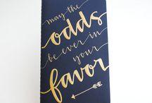 font/typography / by Jennifer Luu