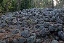 окраска камней