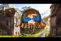 Logo do Jogo / Logo oficial do jogo As Aventuras de Johnnynho