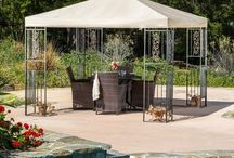 Gazebos and Canopies / A little shade goes a long way. Backyard, barbecues, soccer games...