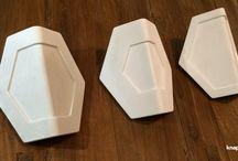 Knappt Tiles / Decorative textured concrete tiles // Декортивная объемная плитка