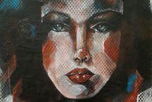 RESİMLERİM acrylic painting