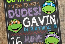 ninja turtles party ideas