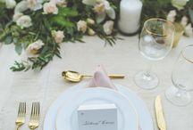 Napkins table setting