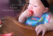 Baby Led Weaning / Introducing solids / baby, babies, introducing food to baby, introducing solids, first foods, breastfeeding
