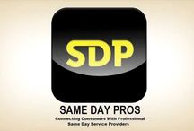 Same Day Service Provider / For those companies who are looking for a way where in they can get the necessary exposure for potential customers to reach out to them. One such facility that is provided is an app that is available for businesses by the website smaedaypros.com.
