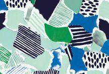 textile design drawing