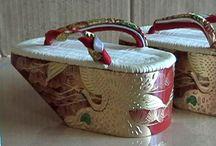 Geta & kimono footwear / #kimono #footwear #japan #kimonofootwear #geta