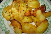 zemiaky na rôzný spôsob.