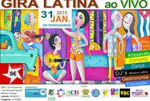 GIRA LATINA ao VIVO / Gira Latina ao Vivo é um evento de artesanato, gastronomia, dança e musica latina. https://pt-br.facebook.com/events/843372599018265/